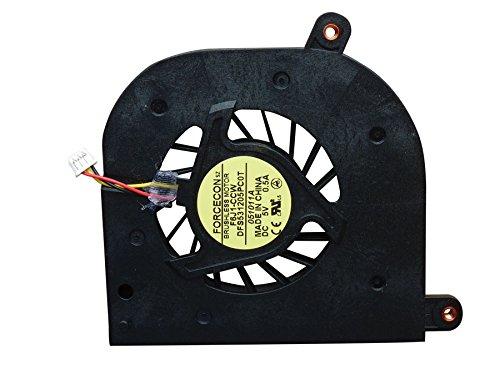 WishingDeals Laptop CPU Kühler Lüfter Ventilator für Toshiba Satellite P200 P205 P205D Serie -