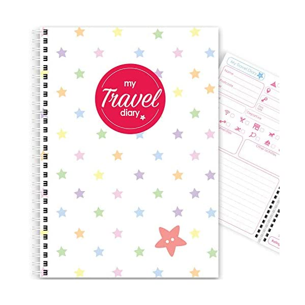 My Camping Diary, Over 100 Pages, Colourful, A5, Travel, Caravan, Motorhome, Campervan, Planner, Organiser, Journal…