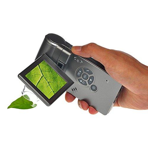 Portable Digital Mikroskop mit LCD Bildschirm und 500X Vergrösserung von Global Care Market