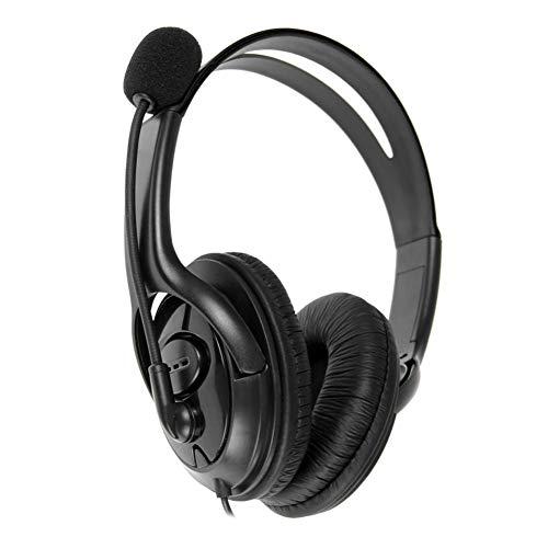 UNIhappy USB Wired Overhead Gaming Headset Stereo Kopfhörer mit Mikrofon für Sony PS4