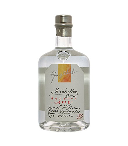Guglhof: Mirabellen Brand - Jahrgangsbrand / 43% Vol. / 0,7 Liter - Flasche