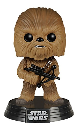 Preisvergleich Produktbild Funko FK6228 - Pop! Star Wars Episode VII The Force Awakens - Chewbacca Vinyl Figur 10 cm