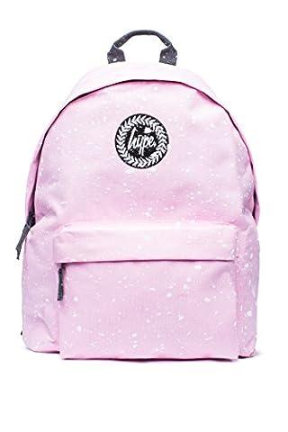 Hype Sac à dos d'école tacheté rose rose/blanc 42