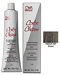 Wella Color Charm Gel, 237/4A Medium Ash Brown, 2 Ounce