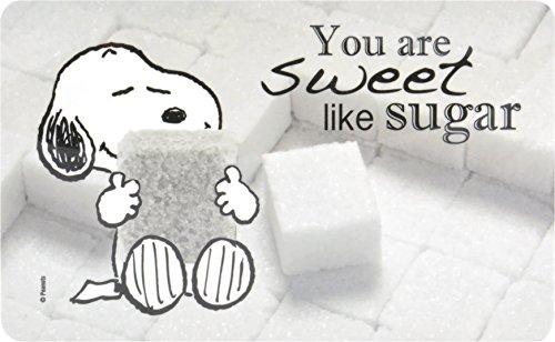 Peanuts - Frühstücksbrettchen Snoopy:  You are sweet like sugar