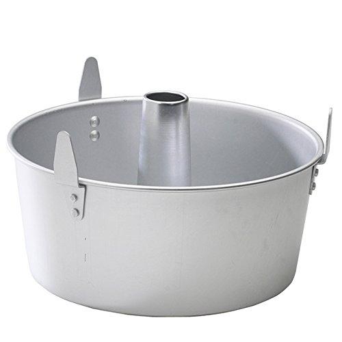 NordicWare 54901 2-teilig Engel Lebensmittel Pfanne mit Kühlung Füße, Aluminium, Schwarz, 26,4 x 26,4 x 10,8 cm -