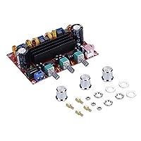 Xh-M139 لوحة طاقة رقمية استريو، Phomnd XH-A305 Bluetooth 5.0 Stereo Digital Power Board TPA3116D2 50Wx2+100W 2. وحدة صوت باس مكبرات صوت صوت صوت باس AUX AMP