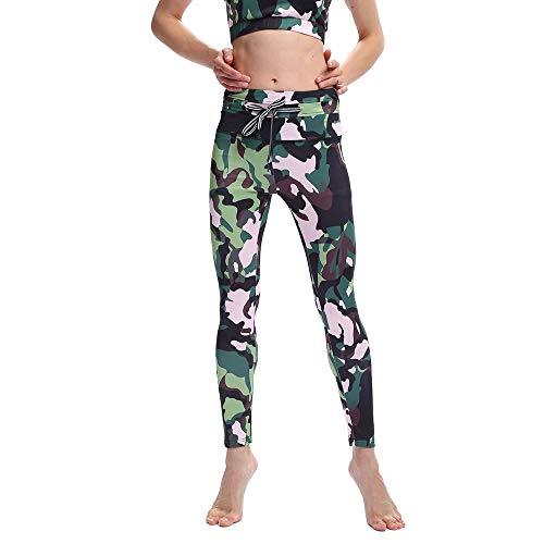 Leggings, Winter Goddess Slim Sports Casual Leggings, Interessantes Damengezackdruck Hip Elastic High Waist Leggings, Yoga, Fitness, Stretching Sports Tights,M