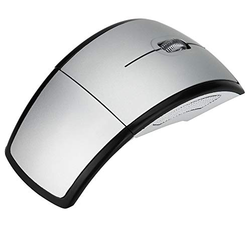 Ratones Zariavo, Ratones ópticos inalámbricos con Arco Plegable de 2,4 GHz + Receptor USB para PC Lapto