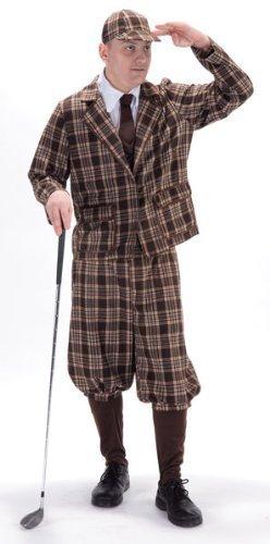 1930er Golfer Kostüm Erwachsene ()