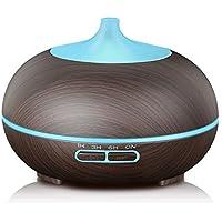 KBAYBO Aroma Fresh Air Diffuseur Brume Huile Essentielle Ultrasonique Grain de Bois, 7 Couleurs Change LED Réglage... preisvergleich bei billige-tabletten.eu