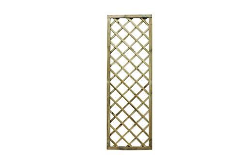 AVANTI TRENDSTORE - Ermes - Pannello grigliato in legno, disponibile in 3 misure (60x180 cm)