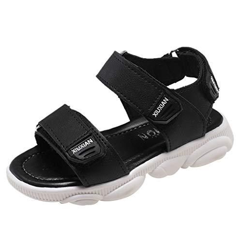 Fenverk Sandalen Jungen Geschlossen Klettverschluss Sommer Kinder Schuhe Mädchen Atmungsaktiv...