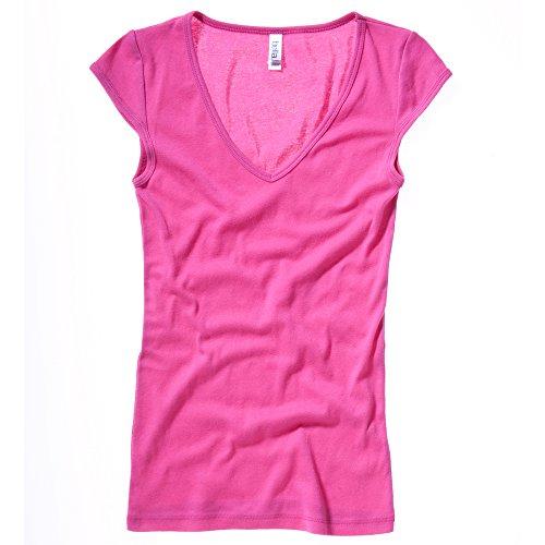 Bella Canvas - T-shirt - Femme L Rouge - Baie