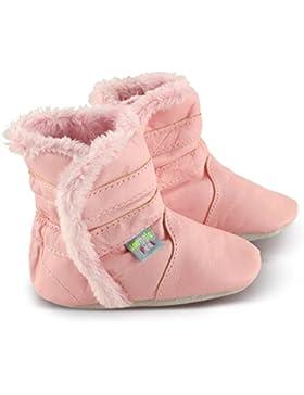 Snuggle Feet Babyschuhe, klassisch marineblau, weiches Leder, 6-12 Monate, 12-18 Monate, 18-24 Monate, 24-36 Monate