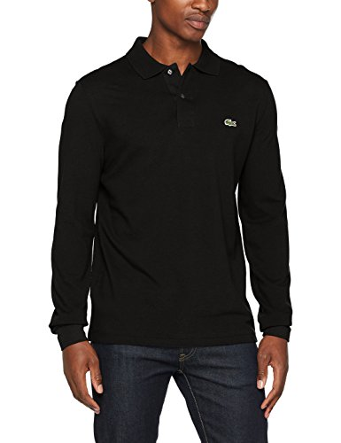 Lacoste L1312-00 Herren Poloshirt,Schwarz (Noir), Gr.X-Large (Herstellergröße: 6) (Schuhe Kleid Lacoste)