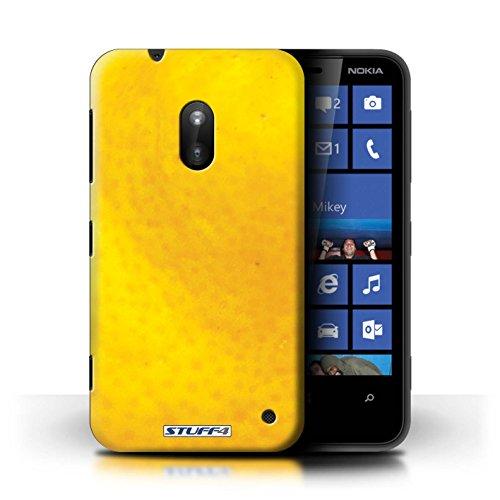Kobalt® Imprimé Etui / Coque pour Nokia Lumia 620 / Fraise conception / Série Fruits Orange / Peau