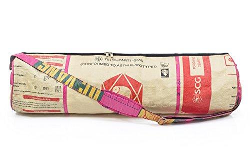 nicht nur 100/% Baumwolle aubergine oder 90cm Breite f/ür Schurwollmatten 75cm XL-Format f/ür Yogamatten mit 60cm SURYA BAG COTTON Yogatasche gro/ß, extra big