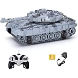 Pacific Toys Remote Controlled Tank with Music and Lights, Colour May Vary