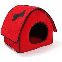 WYXHCJZ Cama del Animal doméstico, casa de la Cama del Perro del Gato Mat,