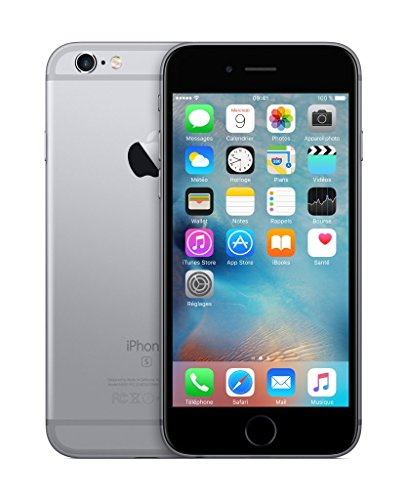 Apple iPhone 6s Smartphone (11,9 cm (4,7 Zoll) Display, 16GB interner Speicher, IOS) grey - 2