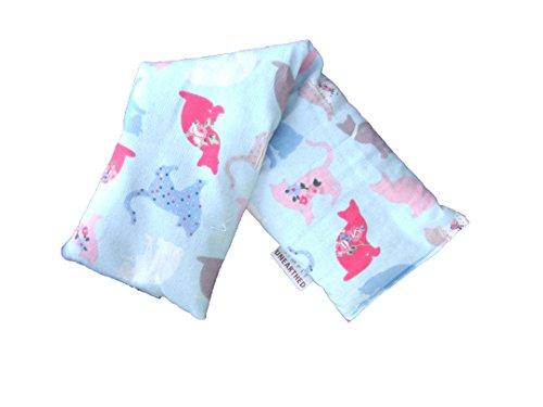 Bolsa de semillas para frío y calor, de calidad suprema, sin perfume, para microondas, 100% algodón, hermoso diseño de animales