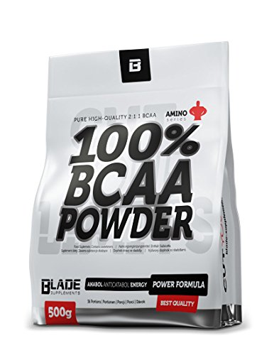 BLADE Series - 100% BCAA Pulver + Glutamin- 500g (Lemon)