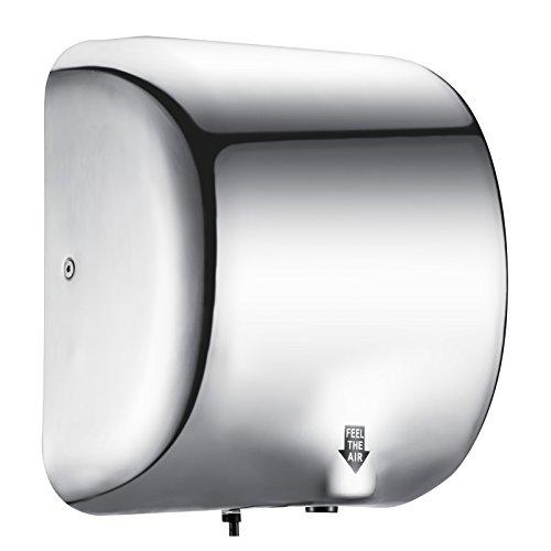 BuoQua 1800W Asciugamani Elettrico Professionale Asciugamani Elettrico Di Fascia Alta In Acciaio Inox 1200mm Di Sensor Asciugamani Elettrica Ad Aria Calda