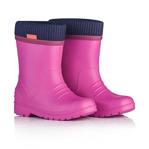 Krexus stivali da pioggia per bambino eva rosa taglia 34/35 xk01101_34