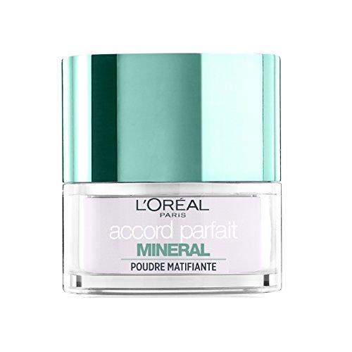 L'Oréal Paris Make Up Designer, linea Accord Parfait, polvere minerale per finitura opaca, fissante