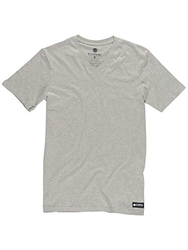 Element Basic V SS Fitted T-Shirt Grey Heather