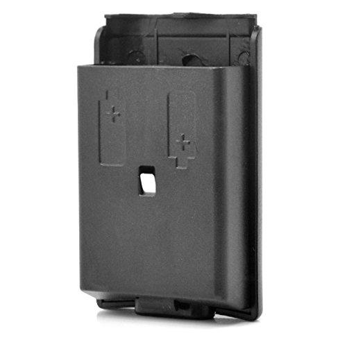 Neuftech Batteriefach Akku Deckel Cover Gehäuse für Gamepad Xbox 360 Controller - schwarz
