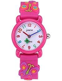 28d476ba9855 HY Niños Relojes Analógicos para Niños Niñas