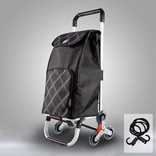 RTTgv Einkaufstrolleys Zusammenklappbarer Einkaufssitz und Zubehörtasche für den mobilen Einkaufskorb (Farbe : B)