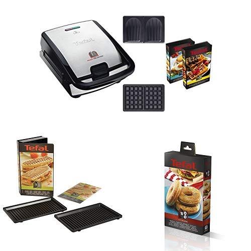 Tefal SW853D12 Snack Collection Machine à Gaufres et...