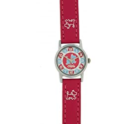Chipie Mädchen-Armbanduhr Analog Kunststoff rosa 5209402