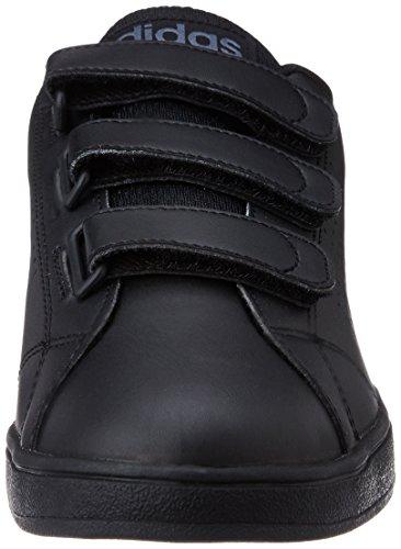 adidas Vs Advantage Clean Cmf, Chaussures de Sport Homme Coloris variés (noir (noir essentiel / noir essentiel / onyx))
