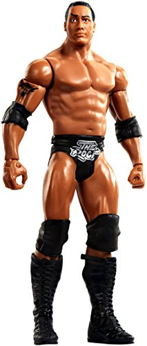 WWE SummerSlam Action The Rock Figure