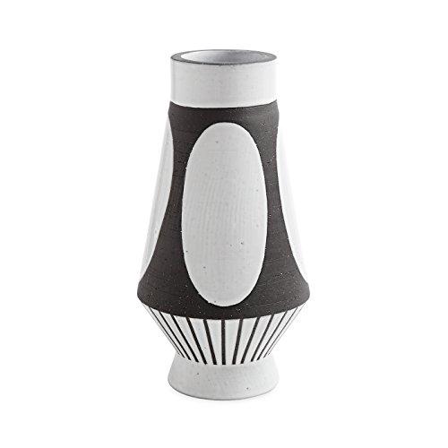 Jonathan Adler - Vase, Blumenvase - Palm Springs Dots - Steingut - 31,75 cm Palm Dot