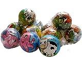 COOLMP - Lot de 3 - Balle rebondissante Soft Ø 7,5cm modèles Animaux Assortis