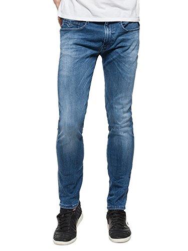 Replay Herren Slim Jeans Blau