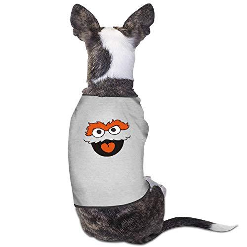 sse Oscar The Grouch Face Pet Kleidung Lustiges Hundekostüm ()