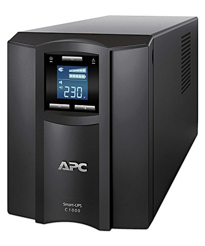 APC Smart-UPS SMC SmartConnect - SMC1000IC - Gruppo di continuità (UPS) 1.000VA (Connesso al cloud, 8 uscite IEC-C13, Modello Tower)
