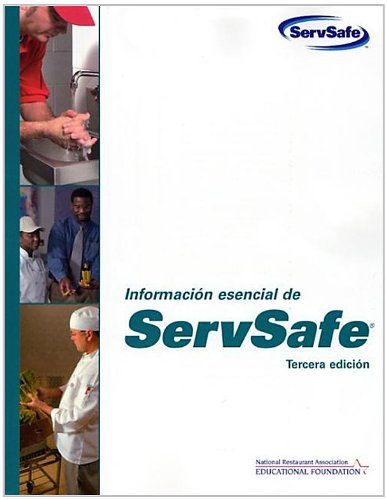 ServSafe Essentials in Spanish: WITH Scantron Certification Exam por National Restaurant Association Educational Foundation