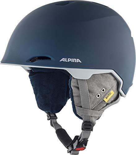 Alpina Erwachsene Maroi Ski- und Snowboardhelm, Ink-Grey matt, 53-57 cm