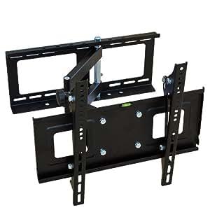 TecTake® 400292 Wandhalterung für Flachbildschirme 27-52 Zoll 69-132cm