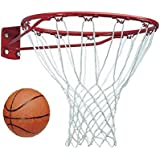 SPANCO 13 Mm Thickness Basket Ball Ring With Net & Basket Ball