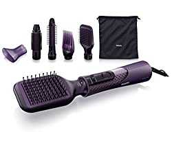 Philips Pro Care Airstyler (Ionen-Funktion, ThermoProtect) HP8656/00, 1000 Watt, violett
