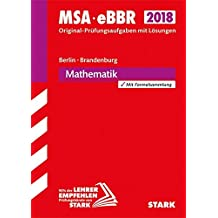 Mittlerer Schulabschluss Berlin/Brandenburg - Mathematik