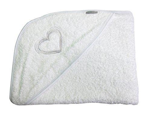 Baby Sense Ba Sense extra-große Kapuze Schürze Kleinkind Badetuch - weiche & beruhigende 100% saugfähige Baumwolle - perfekte Größe für Jungen oder Mädchen - Premium ba Dusche Geschenk (Kapuzen-badetuch Kleinkind)